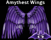 Amythest Wings