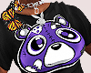 Court Purple Bear