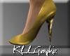 [KLL] Glitter Heels Gold