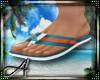 A: Nautica Flip Flops