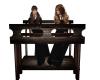 Hogwarts students desk