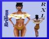 [B]Gold White Bikini RXL