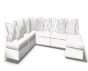 White Couch Sectional