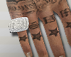 ICED OUT PINKY RING | R