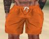 Orange Swim Trunks