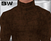 Brown Turtle Sweater VL