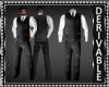Vest Suit w/Necktie Mesh
