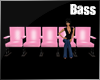 !B Pink PVC Movie Chairs
