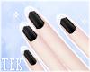[T] Nails white tips
