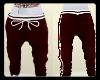 trap red sweat pants