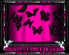 pink head of butterflys