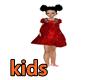 F]RED VELVET DRESS KIDS