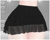 T! Ruffle Skirt - Black