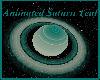 Animated Saturn Teal