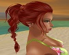 ponytail braid red fawn