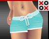 Baby Shorts Aqua