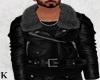 *K*LeatherJacket&FurColl