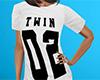 Twin 02 Shirt White (F)
