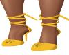 Sunshine Yellow Heels