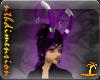 Demonic Horns Purple (f)
