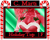 C. Marti Holiday Top F