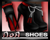 *NoA*Mod Boots Blk Red