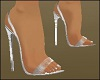 Silver Dainty Shoes