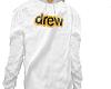 DREW white hoodie