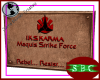 IKS Karma Maquis Plaque