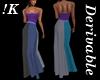 !K! Sparkle Corset Gown