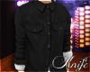 ♆ Black Button Up