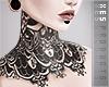 x' Collar Tattoo lace