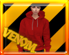 {VM}Hoodie Light Red
