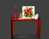 Sofa Table/Red