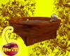 Burl Oak Tub