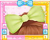 Kids Lime Bow