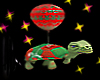 christmas turtle balloon