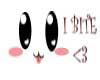 Head Sign I bite ~Cute~