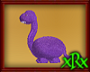 Dinosaur Seat Purple