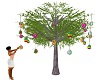 EASTER EGG TREE W POSES
