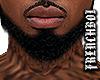 Black Ducktail Fro Beard