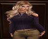 Cold Shoulder Sweater V2