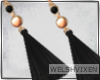 WV: Malia Black Earrings