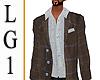 LG1  Blazer & Shirt ML