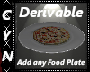 Derivable Any Food Plate