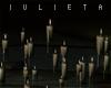 J! Floating candles