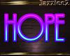 J2 Hope Neon Sign