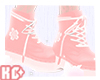 Ko ll Laced boots Pink