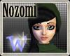 *W* Nozomi Black Green