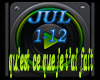 JUL Music 1/12